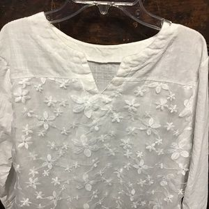 Noracora white 2XL blouse new with bag